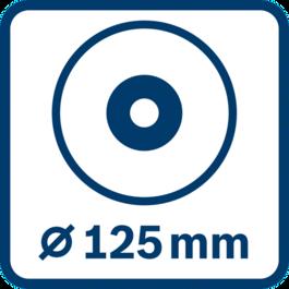 디스크 직경 125 mm