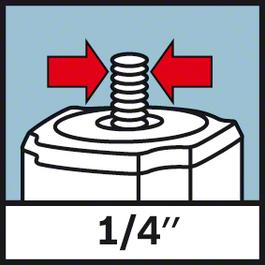 """나사 마운트 1/4 inch 1/4"""" 삼각대 나사"""