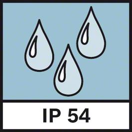 IP 보호 등급 54 방진 및 방수 등급 IP54
