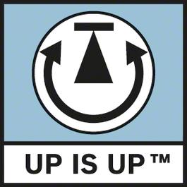 Up is Up 최적의 방향 설정을 위해 이미지를 디스플레이로 자동 전송