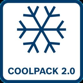 셀 보호 기능 향상 - 냉각 성능 35 % 향상 외부 표면으로의 열 전달이 향상되어 오늘날 COOLPACK보다 향상