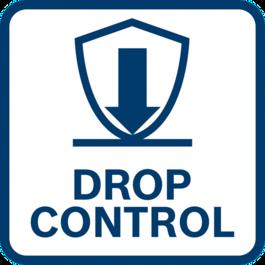 사용자 보호 기능 개선 Drop Control 기능으로 공구가 돌발적으로 떨어질 때 공구의 전원을 끄는 기능 덕분