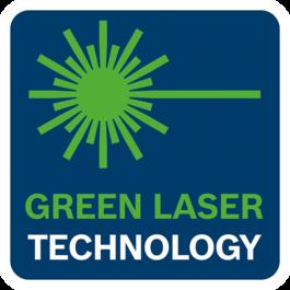 가시성이 높은 녹색 레이저 기술