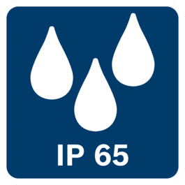 물 분사에 대한 방수 및 방진 등급 IP65