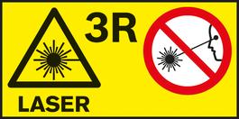 레이저 등급 3R 다양한 측정 공구를 위한 레이저 등급