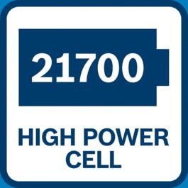 21700, 리튬이온 배터리, 고출력 셀