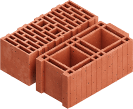 Hollow Brick 빌딩 블록