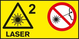 레이저 등급 2 측정 공구를 위한 레이저 등급.
