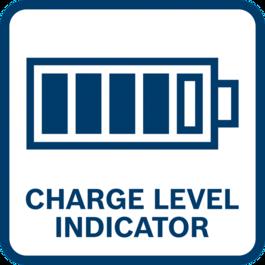 배터리 충전량 표시 배터리 잔량이 표시됨